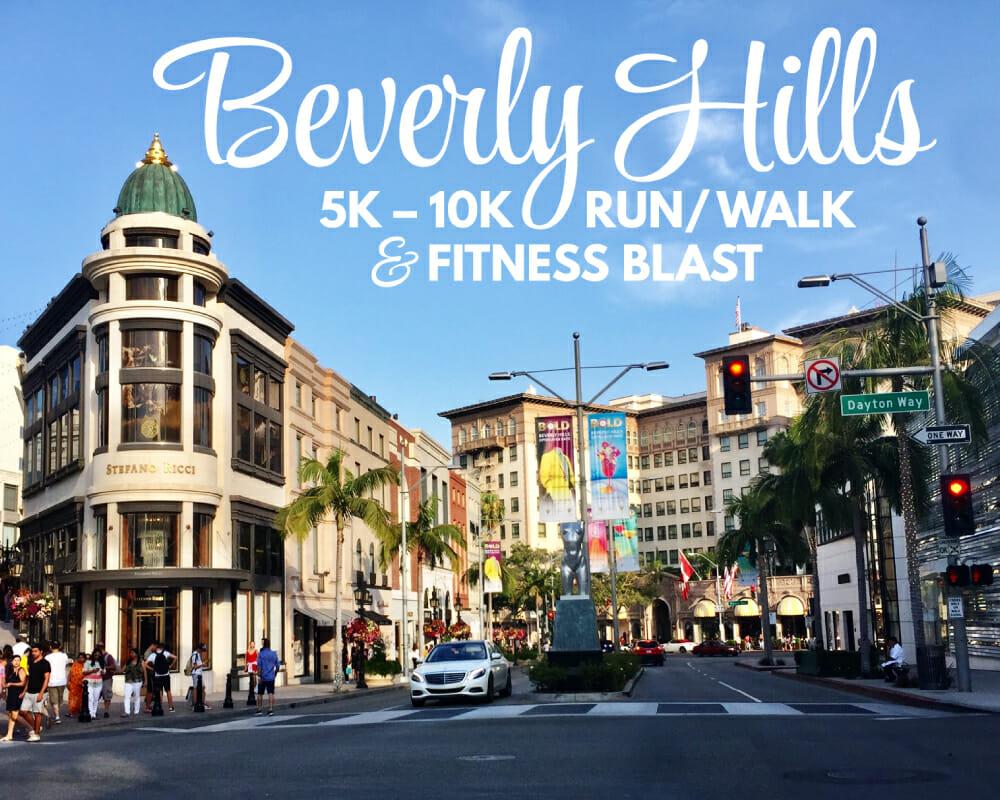 Adam Wright Design | Beverly Hills 5k-10k Run/Walk & Fitness Blast