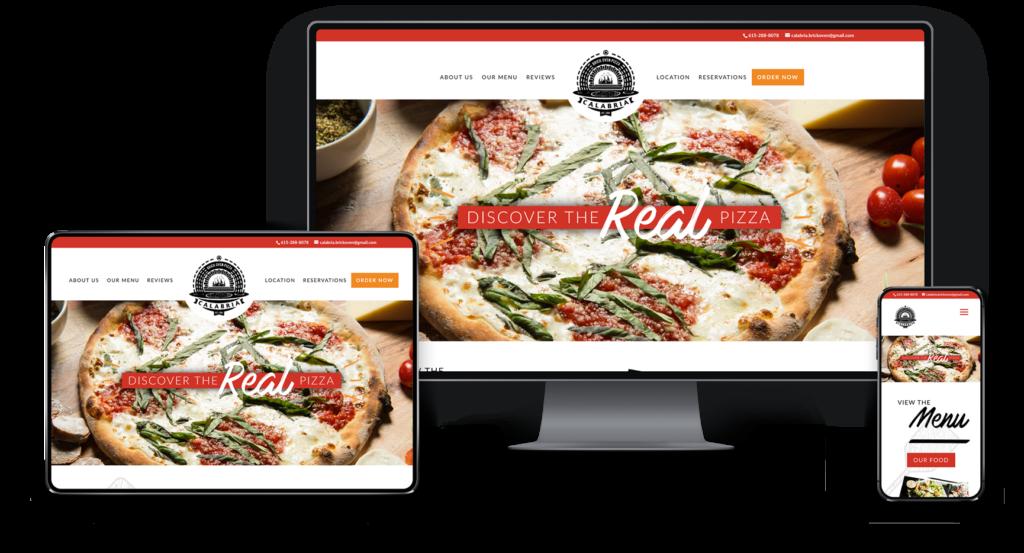 Adam Wright Design | Calabria Pizzeria